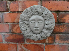 Green Woman Wall Plaque Garden Ornament Latex only Mould/Mold