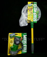 FIELD SCOPE & BUTTERFLY SCOOP NET - Backyard Safari - 6X Magnifying INSECTS BUGS