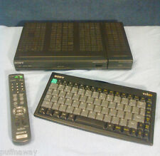 Sony WebTV Internet Terminal with Printer Adapter, Keyboard & Remote - NICE!