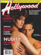 FEB 1992 HOLLYWOOD STUDIO vintage movie magazine SEAN YOUNG - KEVIN COSTNER