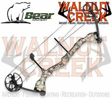 Bear Archery Attitude Compound Bow Realtree APG 60lbs Left Hand A4AT10006L