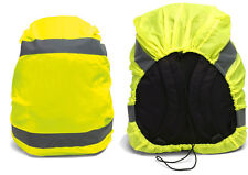 School Bag Backpack Rain Protector Raincover Reflector Neon Yellow High Vis
