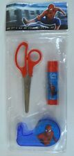 SPIDER-MAN 2 Child's STATIONERY KIT MIP Italy Only 2004 Scissors Glue Tape