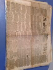 Lot Of 28 Civil War Era Reading Adler Newspapers Pa Lincoln German Tex
