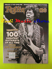ROLLING STONE USA MAGAZINE 1145/2011 Jimi Hendrix Michael Stipe Sting No cd