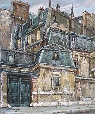 André BOYER (1909-1981) HsT Expressionnisme Expressionnism Ecole de Paris Passy