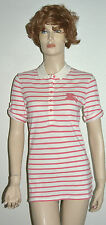 NWT BURBERRY WOMENS POLO SHIRT BLOUSE SZ LARGE