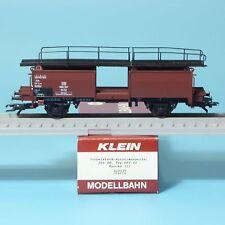 Klein Modellbahn Nr. 3521/2 Doppelstock-Autotransportwagen Off 52 der DB Ep.3,H0