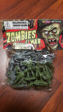 Zombies at War Previews Exclusive Plastic Figure 35 Ct Bag