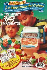X4036 3 Minuti la macchina del gelato - GIG - Pubblicità 1992 - Advertising