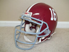LARGE Alabama Crimson Tide Riddell VSR4 Game Football Helmet & Un Used Facemask