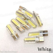 2 x T10 194 168 W5W COB 18 SMD SILICABright LED Wedge Bulbs 12V DC White