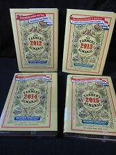 Farmer's Almanac: 2012, 2013, 2014, 2015 - Includes Shipping!!