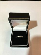 Mappin and Webb 950 Platinum Gypsy Diamond Ring Size L