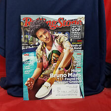 BRUNO MARS Rolling Stone Magazine ISSUE 1274 November 17 2016 Bob Dylan The Band