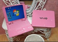 Dollhouse Miniature Sony VAIO Laptops & Computers Window 1:12 Scale (Pink)