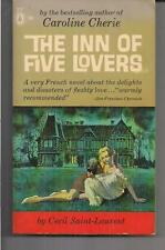 THE INN OF FIVE LOVERS ~ POPULAR LIBRARY SP91 1961 CECIL SAINT-LAURENT