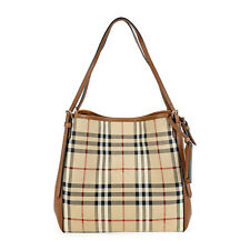 Burberry The Small Canter Horseferry Check Tote Bag