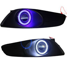 Superb COB CCFL Angel Eyes Halo Foglights Lens For Toyota Yaris 2010-2012