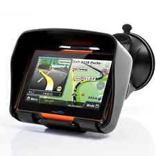 "4.3"" Motorcycle GPS 256M Car Navigation 8GB Navigator Waterproof Bluetooth+Maps"
