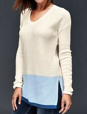 NWT GAP Woman's Brooklyn Colorblock Pullover Sweater Top sz XS