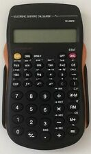 Electronic Scientific Calculator(10 Digits)+Cover School, Home, Business, ORANGE