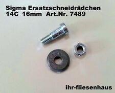 Sigma Ersatzschneidrädchen HM für Fliesenschneider 16mm mit Achse 5,5mm 7489