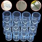 4Pcs Transparent Rubber Furniture Table Chair Leg Floor Feet Cap Cover Protector