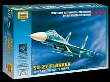 ZVEZDA 7206 SOVIET AIR SUPERIORITY FIGHTER SU-27 FLANKER MODEL KIT 1/72 NEW
