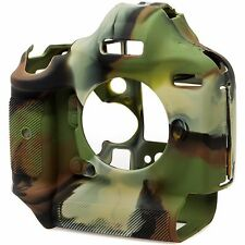 easyCover Silicone Skin Soft Case Cover Protector Canon 1DX Mk 2 in Camouflage