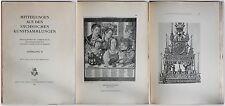 Mensajes de  los Sajón Colecciones de arte 1911. Año II - Dresden -xz