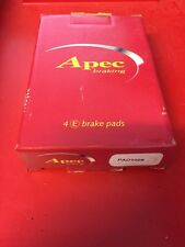 APEC REAR BRAKE PADS TO SUIT DEAWOO NUBIRA LEGANZA 97-02 PAD 1008