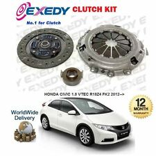 FOR HONDA CIVIC 1.8 VTEC 2012-- NEW EXEDY CLUTCH KIT COVER PLATE BEARING SET