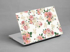"15.6""  Laptop Notebook Sticker Cover Decal viny Flower Sony Dell HP Acer Asus"