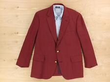 RARE vtg BROOKS BROTHERS 3/2 roll blazer jacket 43S red ivy trad prep patch sack