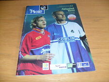 Bristol Rovers v Aldershot Town 27th November 2001 FA Cup