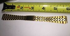 BRAND NEW Oris WATCH Band 16 Stainless Steel Yellow Tone 14mm End