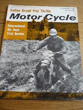 MOTOR CYCLE 19.9.1963 MAGAZINE BMW R 50 ROAD TEST jm