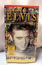 ELVIS HIS BEST FRIEND REMEMBERS VHS *NEW* FAST SHIPPER