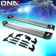 "FOR 09-15 HONDA PILOT 5.25""ALUMINUM RUNNING BOARD RAIL SIDE STEP BAR+LIGHT KIT"