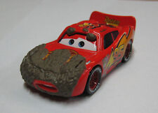 Disney Pixar Cars Muddy Lightning McQueen Final Lap Diecast Loose