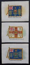 Fusiliers Regiments Regimental Colours SILKS issued in 1915