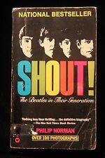 SHOUT-The Beatles In Their Generation Paperback Book 1981 w/Photos