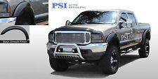 BLACK PAINTABLE Extension Fender Flares 1999-2007 Ford F-250, F-350 Super Duty