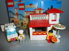 Lego System Pizzeria #6350 with box and instructions