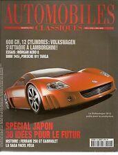 AUTOMOBILES CLASSIQUES N°119 VOLKSWAGEN W12 BMW 745i MORGAN AERO 8 TOYOTA 2000 G