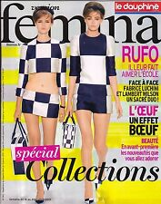 "14 janvier 2013  Collections couture 2013 "" version FEMINA ""  + Marcel RUFO"