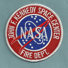 NASA JOHN F. KENNEDY SPACE CENTER FLORIDA FIRE DEPARTMENT PATCH