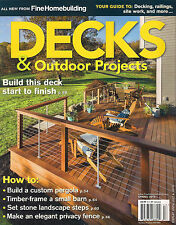 Fine Homebuilding DECKS & OUTDOOR PROJECTS Spring 2015 DIY How to Build Deck Gui