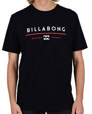 "BRAND NEW + TAG BILLABONG MENS (XL) ""STACKER"" SURF T-SHIRT TEE BLACK REGULAR FIT"